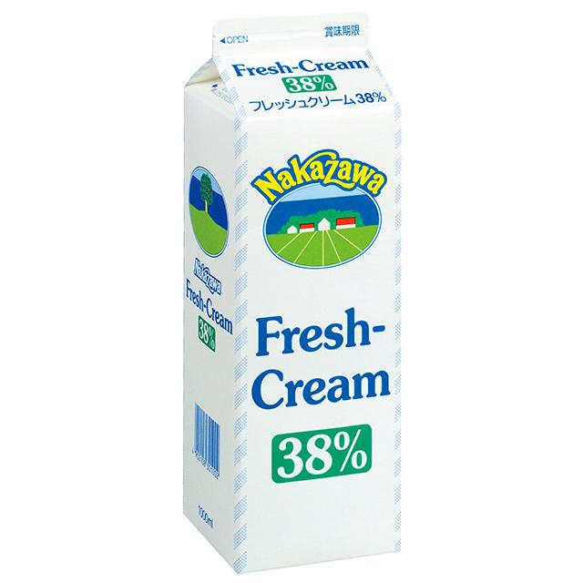 フレッシュクリーム38%